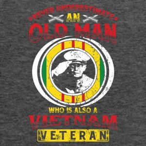 Vietnam Veteran! USA! Proud! - Women's Flowy Tank Top by Bella