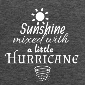 Sunshine mixed with a little Hurricane - Women's Flowy Tank Top by Bella
