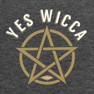 Yes Wicca - Women's Flowy Tank Top by Bella