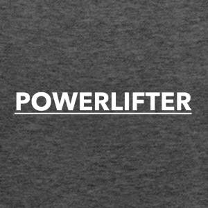 POWERLIFTERLOGO3 - Women's Flowy Tank Top by Bella