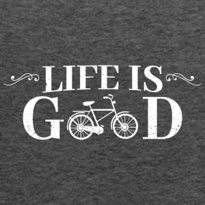 Life Is Good Bicycle - Women's Flowy Tank Top by Bella