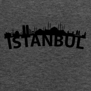 Arc Skyline Of Istanbul Turkey - Women's Flowy Tank Top by Bella