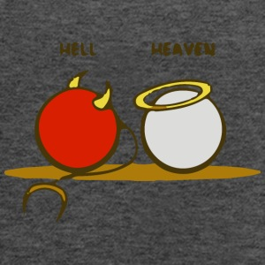 Heaven and Hell - Women's Flowy Tank Top by Bella