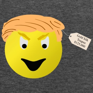 DONALD TRUMP FUNNY TOUPEE SHIRT - Women's Flowy Tank Top by Bella