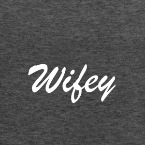 Wifey - Women's Flowy Tank Top by Bella