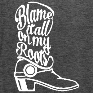 Blame it on the boots - Women's Flowy Tank Top by Bella