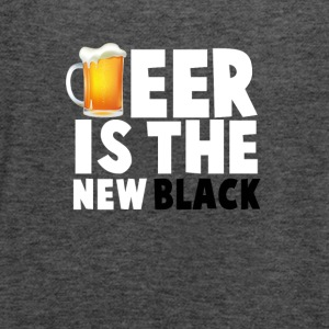 Beer Is The New Black - Women's Flowy Tank Top by Bella
