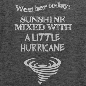 Funny Quote: Weather Today - Women's Flowy Tank Top by Bella