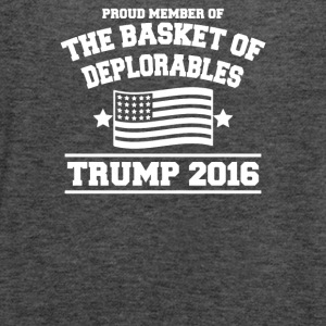 Basket Of Deplorables - Women's Flowy Tank Top by Bella