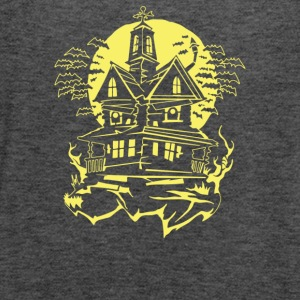 Haunted House - Women's Flowy Tank Top by Bella