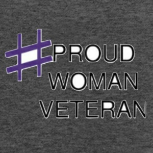 Proud Woman Vet - Women's Flowy Tank Top by Bella
