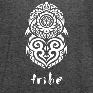Tribe (Hawaii in White) - Women's Flowy Tank Top by Bella
