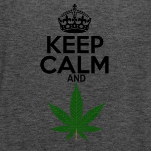 Keep Calm and Weed - Women's Flowy Tank Top by Bella