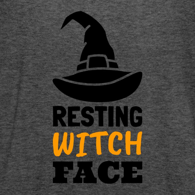 Resting Witch Face   Funny Halloween