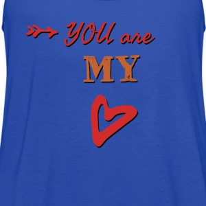 You are my heart - Women's Flowy Tank Top by Bella