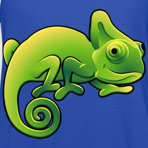 chameleon-lizard-reptile-wildlife - Women's Flowy Tank Top by Bella
