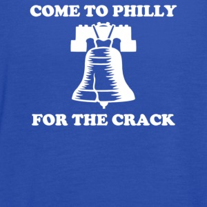 Come To Philly For The Crack - Women's Flowy Tank Top by Bella