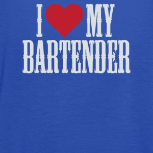 I Love My Bartender - Women's Flowy Tank Top by Bella