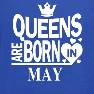 Birthday gift - Queens are born in MAY - Women's Flowy Tank Top by Bella