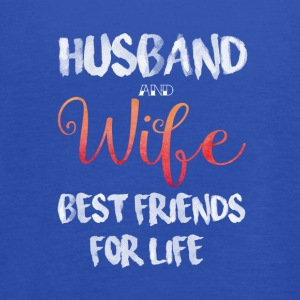 Husband And Wife Best Friends For Life T Shirt - Women's Flowy Tank Top by Bella