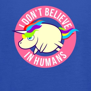 I Don't Believe In Humans - Women's Flowy Tank Top by Bella