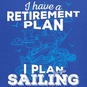 Retirement Plan Sailing (light) - Women's Flowy Tank Top by Bella