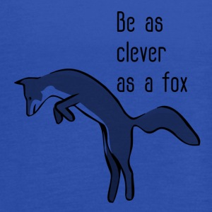 Be as clever as a fox - Women's Flowy Tank Top by Bella