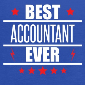 Best Accountant Ever - Women's Flowy Tank Top by Bella