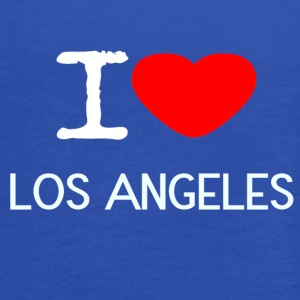 I LOVE LOS ANGELES - Women's Flowy Tank Top by Bella