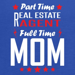 Part Time Real Estate Agent Full Time Mom - Women's Flowy Tank Top by Bella