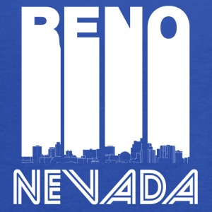 Retro Reno Nevada Skyline - Women's Flowy Tank Top by Bella