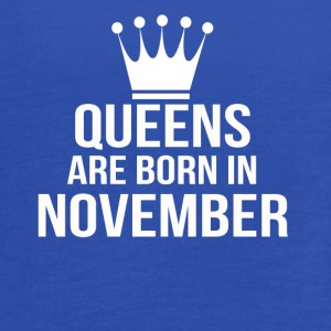 queens are born in november - Women's Flowy Tank Top by Bella