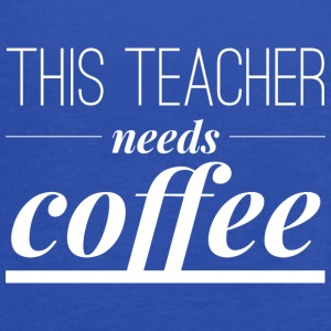 This teacher needs a coffee - Women's Flowy Tank Top by Bella