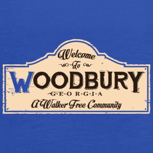 Welcome To Woodbury vectorized - Women's Flowy Tank Top by Bella
