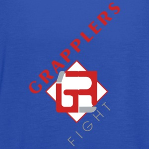 Dynamic 001 grapplersfight LOGO Front - Women's Flowy Tank Top by Bella
