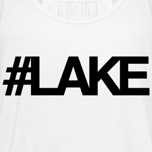#Lake - Women's Flowy Tank Top by Bella