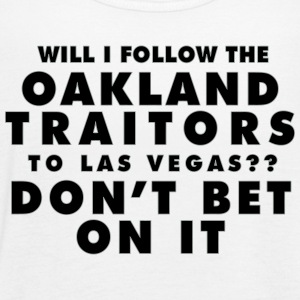Will I Follow the Oakland Traitors - Women's Flowy Tank Top by Bella
