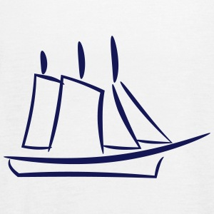 Ship and Sail - Women's Flowy Tank Top by Bella