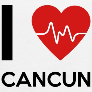 I Love Cancun - Women's Flowy Tank Top by Bella