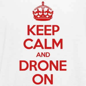 Keep calm and drone on - Women's Flowy Tank Top by Bella