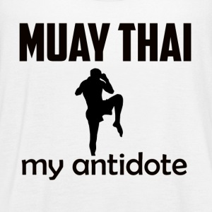muay_thai design - Women's Flowy Tank Top by Bella