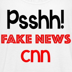 Fake News CNN t shirt - Women's Flowy Tank Top by Bella