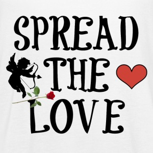 SPREAD THE LOVE - Women's Flowy Tank Top by Bella