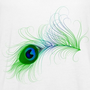 Peacock Feather - Women's Flowy Tank Top by Bella