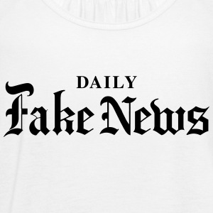 DAILY Fake News - Women's Flowy Tank Top by Bella