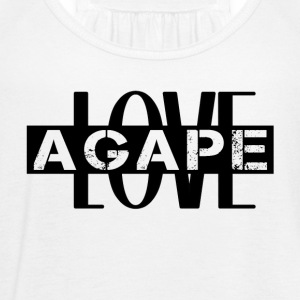 Agape LOVE - Women's Flowy Tank Top by Bella