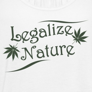 Legalize Nature - Women's Flowy Tank Top by Bella