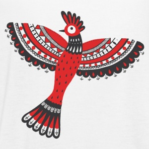 The red bird - Women's Flowy Tank Top by Bella