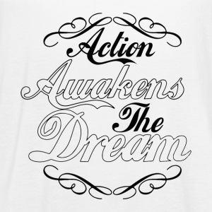 Action Awakens the Dream - Women's Flowy Tank Top by Bella