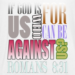 If God Is For Us Who Can Be Against Us?Bible Verse - Women's Flowy Tank Top by Bella